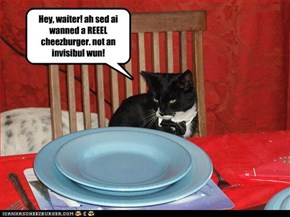 Invisible Cheezburger