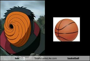 tobi Totally Looks Like basketball