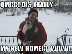 OMCC! DIS REALLY  MY NEW HOME!?  WOW!!!