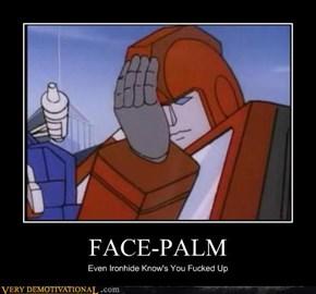 FACE-PALM