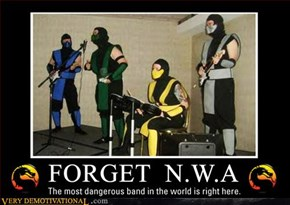 Mortal Kombat Ninja Band