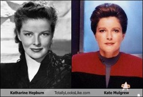 Katharine Hepburn Totally Looks Like Kate Mulgrew