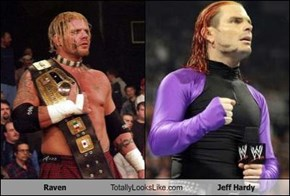 Raven Totally Looks Like Jeff Hardy