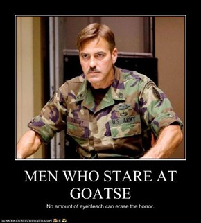 MEN WHO STARE AT GOATSE