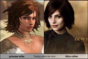 princess erika Totally Looks Like Alice cullen