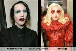 Marilyn Manson Totally Looks Like Lady Gaga