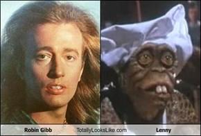 Robin Gibb Totally Looks Like Lenny