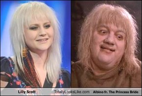 Lilly Scott Totally Looks Like Albino fr. The Princess Bride