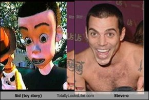Sid (toy story) Totally Looks Like Steve-o