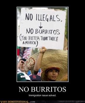 NO BURRITOS