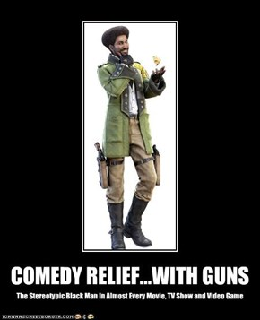 COMEDY RELIEF...WITH GUNS