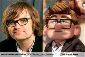 Ben Gibbard of Death Cab for Cutie Totally Looks Like Carl Fredricksen