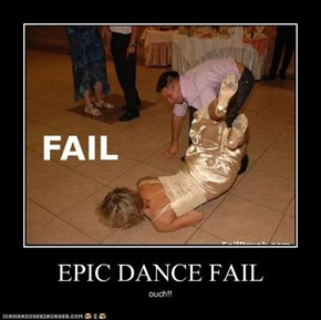 EPIC DANCE FAIL