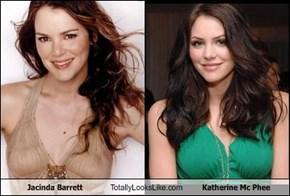 Jacinda Barrett Totally Looks Like Katherine Mc Phee