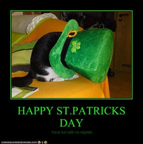 HAPPY ST.PATRICKS DAY