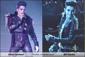 Adam Lambert Totally Looks Like Bill Kaulitz