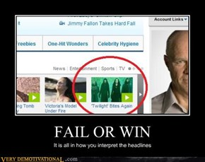 FAIL OR WIN