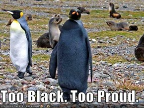 Too Black. Too Proud.