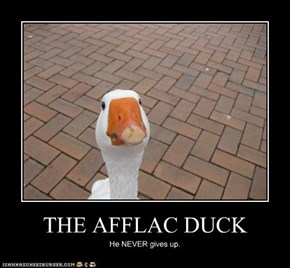 THE AFFLAC DUCK