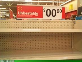 Unbeatable Prices $00.00