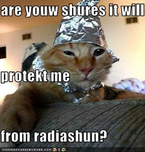 are youw shures it will protekt me from radiashun?