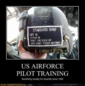 US AIRFORCE  PILOT TRAINING