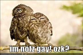 im notz gay! ozk?