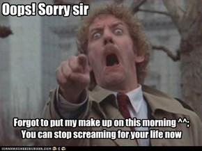 Oops! Sorry sir