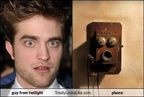 guy from twilight Totally Looks Like phone