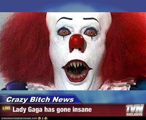 Crazy Bitch News - Lady Gaga has gone insane