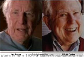 Jan Rubes Totally Looks Like Elliott Carter