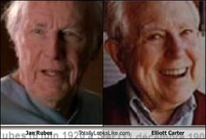 Jan Rubes Totally Looks Like Elliott Carter