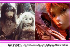 Dark Crystal Totally Looks Like Arthur and the Invisibles