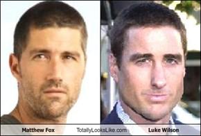 Matthew Fox Totally Looks Like Luke Wilson