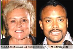 Murielle Robin (French actress) Totally Looks Like Allen Pineda Lindo
