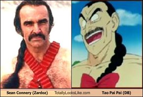 Sean Connery (Zardoz) Totally Looks Like Tao Pai Pai (DB)