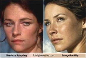 Charlotte Rampling Totally Looks Like Evangeline Lilly