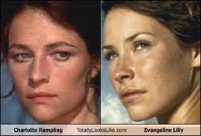 Charlotte Rampling Totally Looks Like Evangeline Lilly