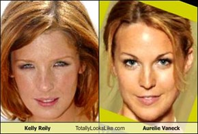 Kelly Reily Totally Looks Like Aurelie Vaneck