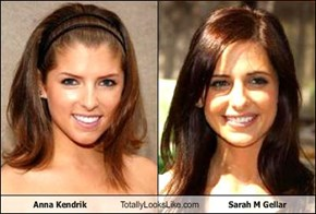 Anna Kendrik Totally Looks Like Sarah M Gellar