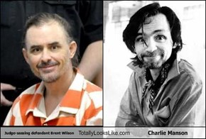 Judge-sassing defendant Brent Wilson Totally Looks Like Charlie Manson