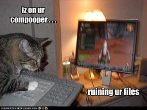 iz on ur compooper . . .