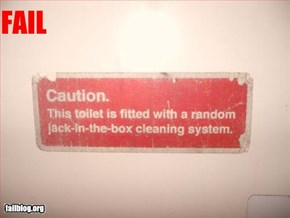Toilet Security Fail