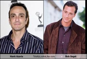 Hank Azaria Totally Looks Like Bob Saget