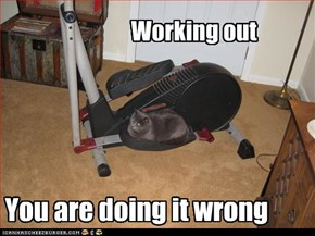 Working out