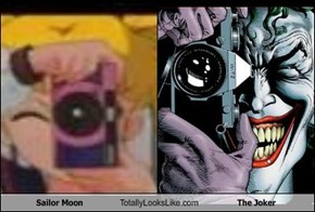 Sailor Moon Totally Looks Like The Joker