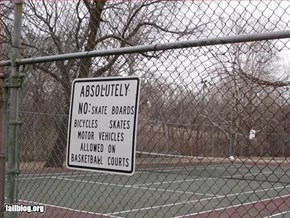 Tennis Court Fail