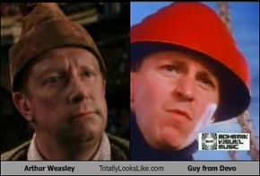 Arthur Weasley Totally Looks Like Guy from Devo