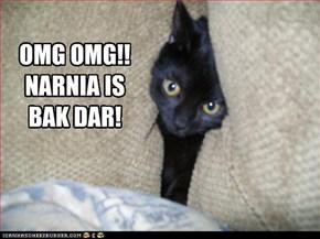 OMG OMG!! NARNIA IS BAK DAR!