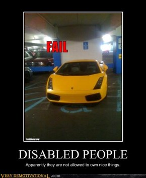 DISABLED PEOPLE